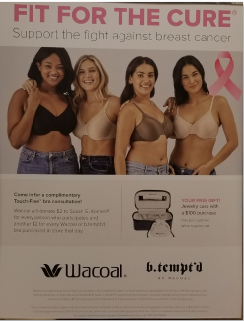 Dillard's bra event March 2021